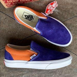 VANS CLASSIC SLIP ON P & C Royal Blue/Apricot men'